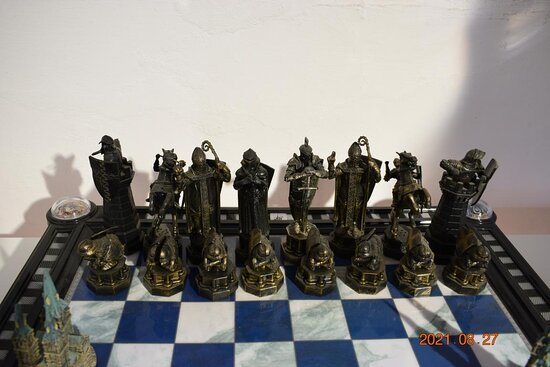 Chess games.