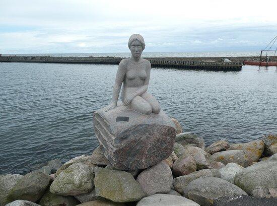 Skulpturen ''mod Hjemve''