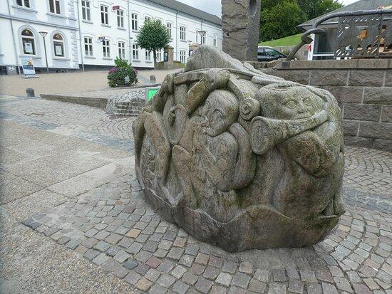 Statuen ''musikstenen''