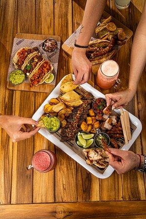 Picada poderosa para compartir y disfrutar al rededor de la comida