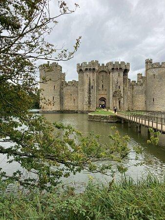 10.  Bodiam Castle, Bodiam, East Sussex