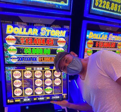 Club Serrano member Kevin won 14,125.89 playing Dollar Storm on Sept. 3, 2021.