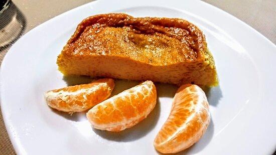 Pastel naranja