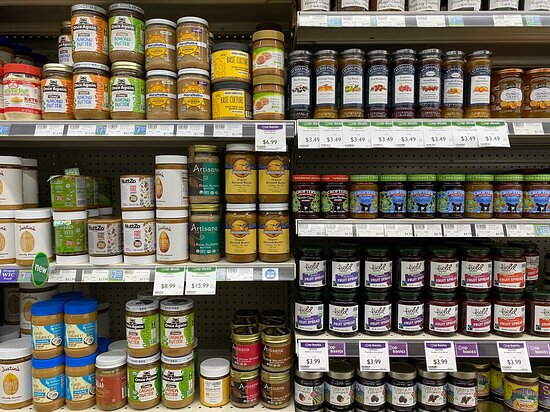 jams, jellies, and nut butters