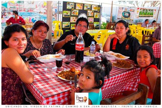 """🌳🌷‼ """"LA FINCA DEL SOL"""" ‼🌷🌳 Restaurant Campestre & Bodega ✅ Conoce nuestro amplio y cómodo local, en 📌 Virgen de Fátima Distrito de San Juan Bautista frente a la fábrica. ✅ Reservas al: 📞 960681525 ................................................................................... También los días Domingos contamos con Chancho al cilindro. ................................................................................... Esperamos su visita"""