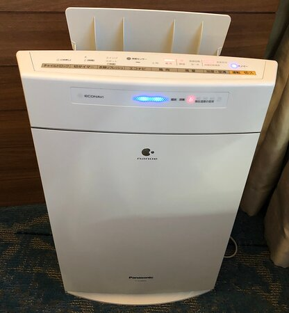 リクエストしておいた空気清浄器付き加湿器