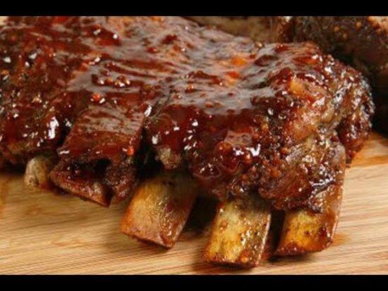 Ribs -costine di maiale in salsa barbecue