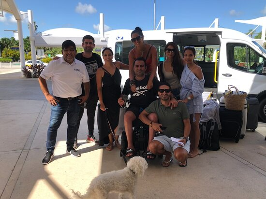 Creating friends every day.  transportation service for people in wheelchairs.  Cancun airport Transfers
