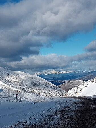 Esquel, Argentina: Bajada centro de esquí