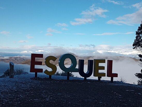 Esquel, Argentina: Mirador camino al centro de esquí