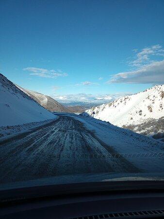 Esquel, Argentina: Camino al centro de esquí