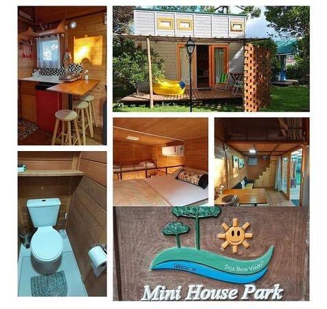 Visite a pousada de TINY HOUSES
