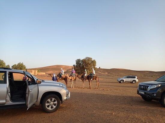 Merzouga, Morocco: In the Sahara desert