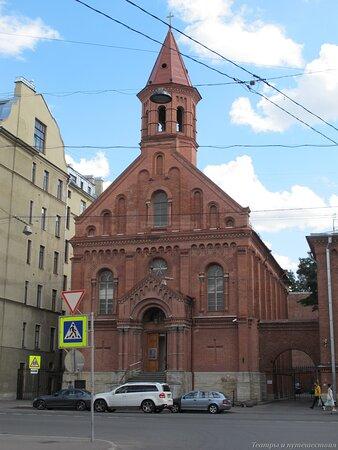Estonian Lutheran church in St.Petersburg
