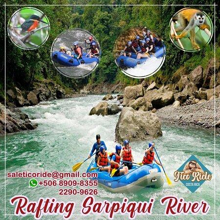 Puerto Viejo de Sarapiqui, Costa Rica: Rafting tour Sarapiquí River anytime anywhere. saleticoride@gmail.com +50689088355 2290-9629