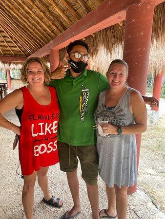 תמונה מFull day adventure in Horses + ATV + Ziplines + Rappel + Cenotes + Lunch