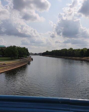 Viewed from Trent Bridge