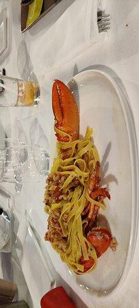 Spaghetti vongole veraci, Tagliatelle all'astice, Pizza Ginestra