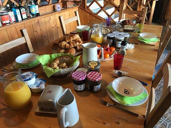 Les petits déjeuners à La Portette