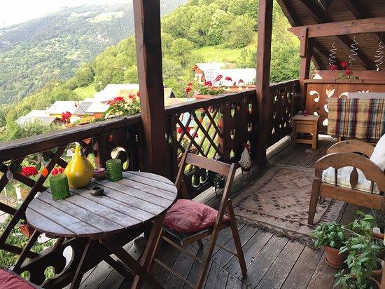 Le balcon, lieu de détente