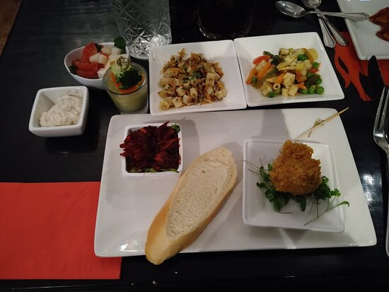 Vegan appetisers