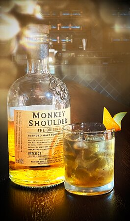 Monkey See, Monkey Do! A favourite cocktail at Pashash