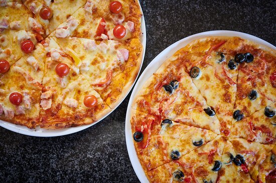 Build your own, Wood fired, oven-baked, Gourmet Pizza