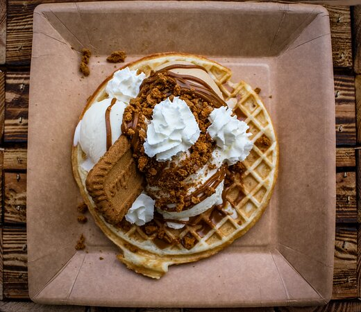 Biscoff Madness Waffle