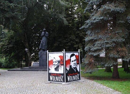 Pomnik Jerzego Popieluszki