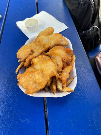 Britannia Beach, Canadá: great fish and chips
