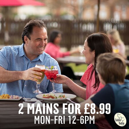 2 mains for £8.99 mon to fri