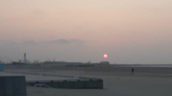 Dunkirk, França: Vue sur le port de Dunkerque