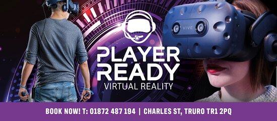 Player Ready Virtual Reality, Escape Room & Indoor Racing Truro