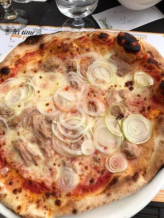 Buona pizza sul lago