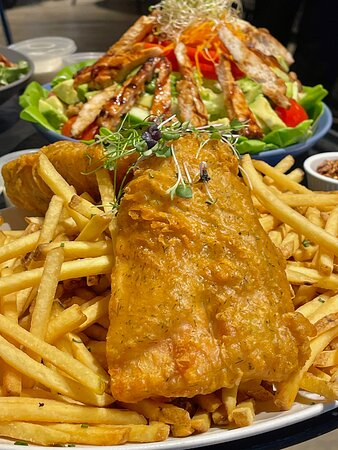 Get hooked.   Hurricane's Grill Fish & Chips. Dine in, or get it delivered via Careem.