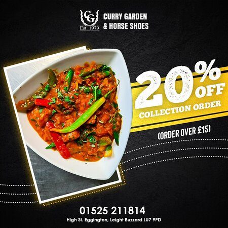 If food is what makes you happy, we have an endless variety of it at Curry Garden! 😍✌️