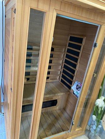 sauna pour 1 à 2 personnes pas plus