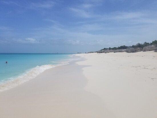 Turks-och Caicos: Secluded beach