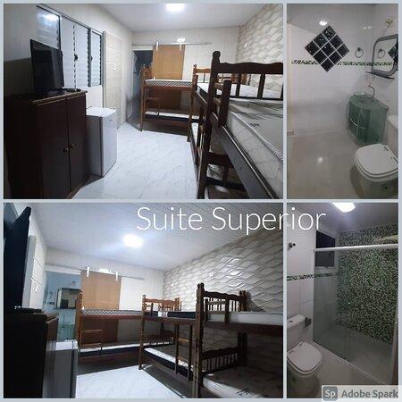 Suite para 6 pessoas