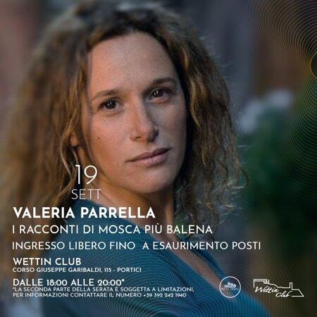 Ore 18 appuntamento con Valeria Parrella per condividere le emozioni del suo libro.  Ingresso libero fino ad esaurimento posti!