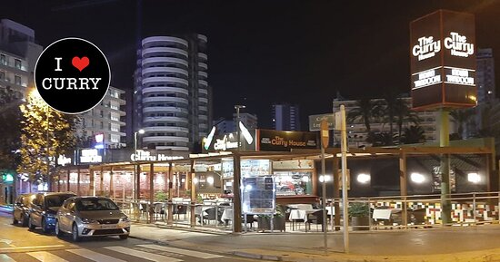 Overall view of the Curry House Benidorm Indian Restaurant