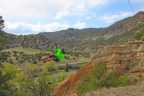 Salida, CO: Ziplining at its best.