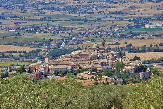 Ούμπρια, Ιταλία: Trevi.  Umbria Agosto 2021.