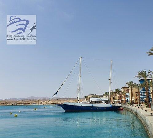 El Quseir, Egypt: Gloria Royal Sailing Yacht located in Port Ghalib