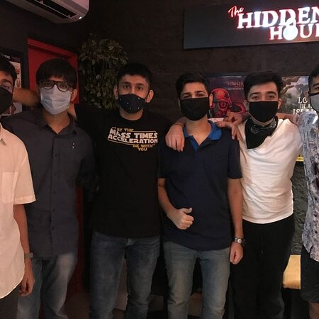 Check out how customers are having gala time at The Hidden Hour!   Are you ready to  challenge your group to escape in just 60 minutes!