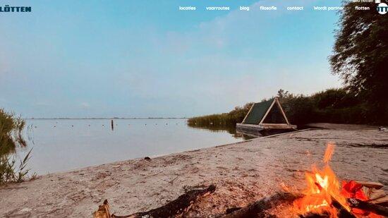 Uitdam, Pays-Bas: flotten campingraft