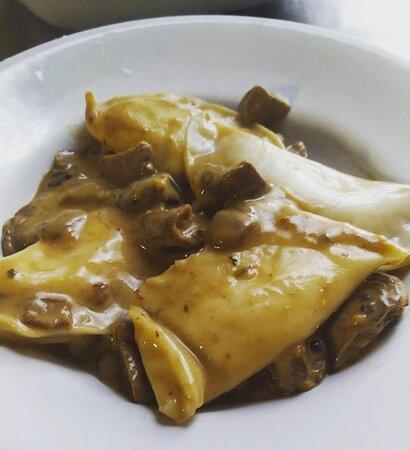Caprauna, Italia: Homemade ravioli .. gnammy !