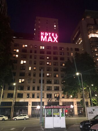 Hotel Max, downtown Seattle