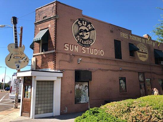 Sun Studio Entré med guidad tur Bild