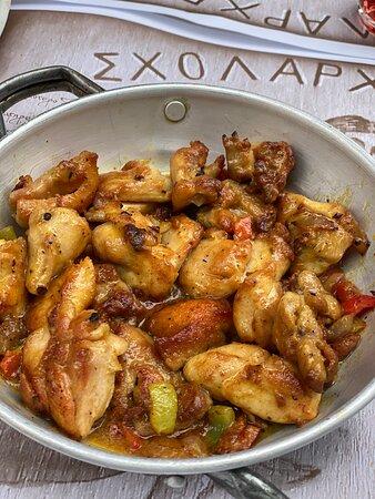 Cuisine traditionnelle grecque.